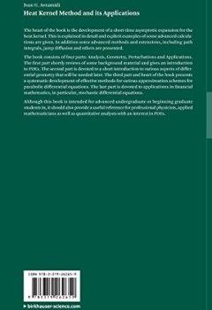 Livres Couvertures de Heat Kernel Method and its Applications
