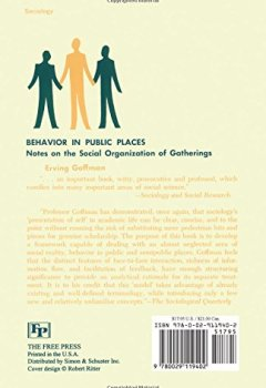 Livres Couvertures de Behavior in Public Places