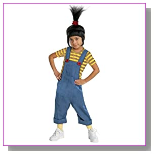 Despicable Me 2 Agnes Deluxe Costume, Small