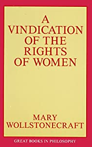 "Cover of ""A Vindication of the Rights of ..."