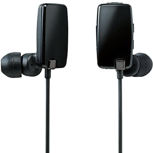 Logitec Bluetooth 2.1+EDR対応 ステレオイヤホン[USB充電ケーブル付] カナルタイプ 05シリーズ ブラック LBT-AVHP05BK