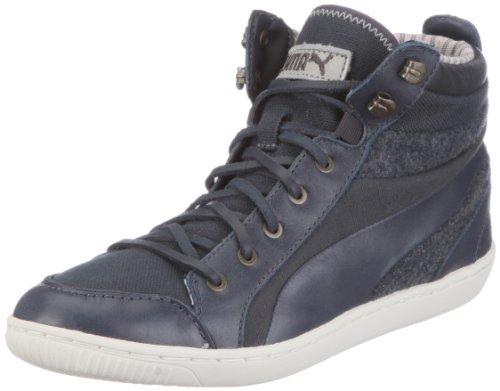 Puma Abbey Military Wn's 352639, Damen Sneaker, Grau (ebony 01), EU 37 (UK 4) (US 6.5)