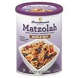 Matzolah- Matzo Granola Breakfast and Nosh (Maple nut, 2 pk)