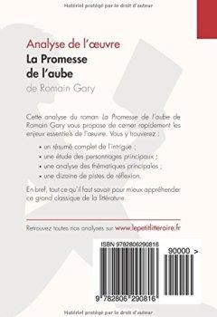 Telecharger La Promesse de l'aube de Romain Gary (Analyse de l'oeuvre): Comprendre la littérature avec lePetitLittéraire.fr de Natacha Cerf