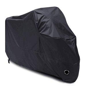 LIHAO-190T-Funda-de-Moto-Cubierta-Impermeable-de-Motocicleta-XL-Negro