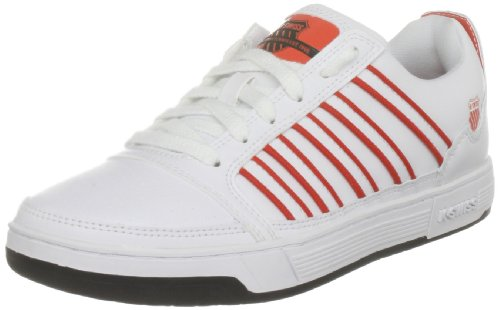 K-Swiss Sneaker Damen Court Approach Wht/Blk/Lsrred, Größe:38