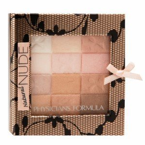 Physicians Formula Shimmer Strips All-in-1 Custom Nude Palette for Face & Eyes, Natural Nude, 0.26 Ounce