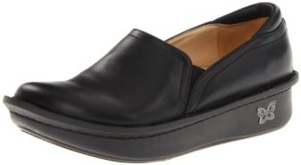 Alegria Women's debra Slip-On,Black Napa,38 EU/8-8.5 M US