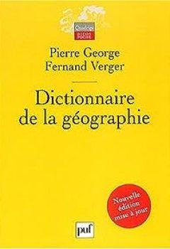 Livres Couvertures de Dictionnaire De La Géographie