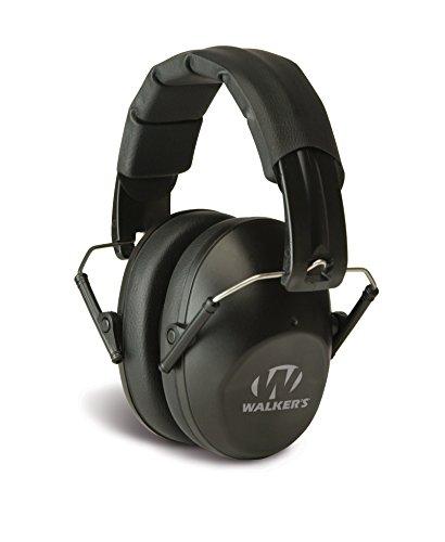 Walkers Game Ear Pro-Low Profile Folding Muff, Black