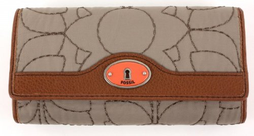 Fossil Key Per Flap Clutch - Ash Gray