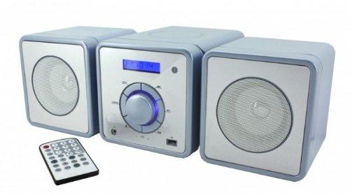 MCD-350 blau Micro-Anlage USB