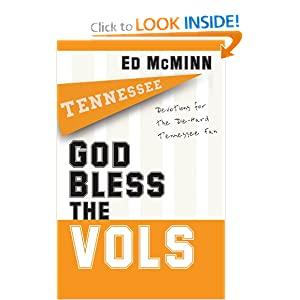 God Bless the Vols: Devotions for the Die-Hard Tennessee Fan