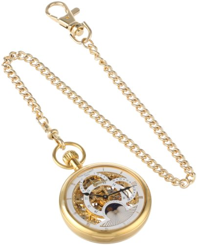 paris gold-plated dual time mechanical pocket watch,video review,charles-hubert,(VIDEO Review) Charles-Hubert, Paris Gold-Plated Dual Time Mechanical Pocket Watch,