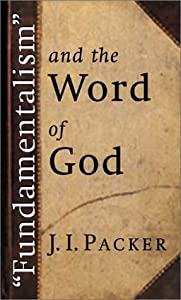 "Cover of ""Fundamentalism and the Word of ..."