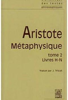 Livres Couvertures de Métaphysique, Tome 2 Livre H N