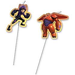 Big Hero 6 Baymax - GIGANTES ROBOWABOHU pajas / popotes Kindergeburtstag NUEVO robot superhéroe