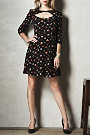 Limited Collection Floral Print Dress [T69-4916-S]