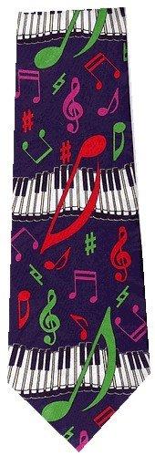 Piano Music Ties