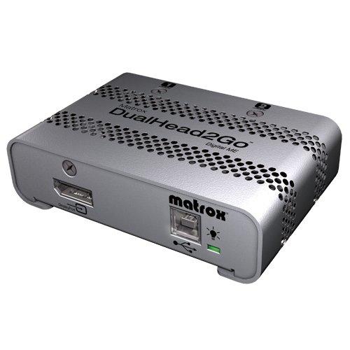 Matrox DualHead2Go デジタル版ME (2画面マルチモニタ対応グラフィックボックス/Mac Edition) D2G/DME