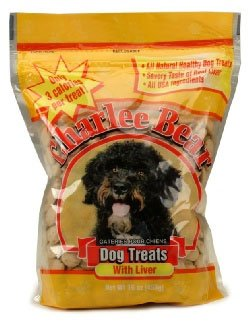 Charlee Bear Dog Treat, 16-Ounce, Liver