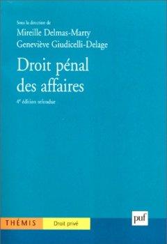 Livres Couvertures de Droit pénal des affaires