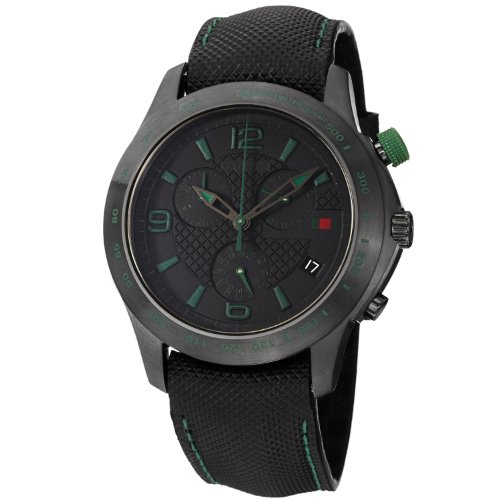 Gucci G-Timeless Black Dial Chronograph Mens Watch YA126225