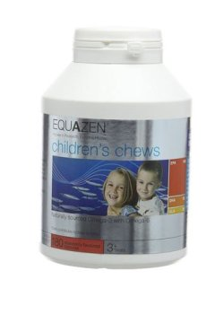 Livres Couvertures de Equazen Eye Q Chews - 180 Chewy Capsules
