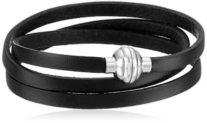 Leather-and-Stainless-Steel-Magnetic-Clasp-Bracelet