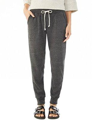 Alternative-Womens-Eco-Fleece-Jogger-Pant-Eco-Black-Medium