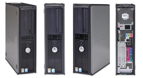 Dell Optiplex GX620 Intel Pentium 4 2800 MHz 40Gig Serial ATA HDD 1024mb DDR2 Memory DVD ROM Genuine Windows XP Professional + 17