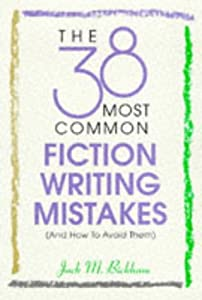 "Cover of ""The 38 Most Common Fiction Writ..."
