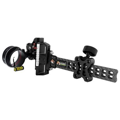 Axcel Archery Sights AccuTouch Carbon Pro Sight with X-41 Scope .010, Right Hand/Left Hand