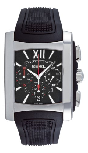 Ebel Men's 9126M52/54BR356 Brasilia Black Chronograph Dial Watch