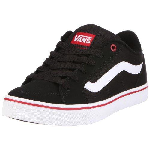 Vans M TRANSISTOR VKXTBA2, Herren Sneaker, Schwarz (black/white), EU 45 (US 11.5)