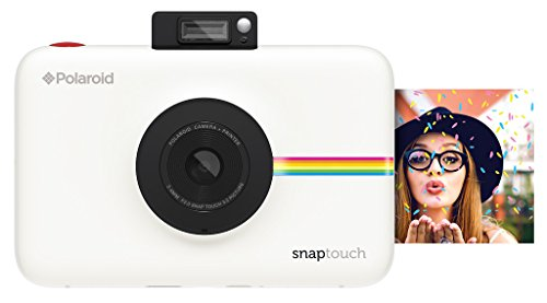 Polaroid Snap Touch Instant Print Digital Camera With LCD Display (White) with Zink Zero Ink Printing Technology