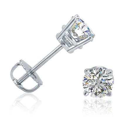 12ct-tw-Round-Diamond-Stud-Earrings-set-in-14K-White-Gold-with-Screw-Backs-IGI-Certified