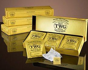 シンガポールの高級紅茶 TWGシリーズ 並行輸入品 (Classic Teabag Selection(クラシックティーパックセレックション1箱)