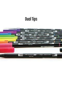 Livres Couvertures de Tombow Dual Brush Pens 10/Pkg-Bright
