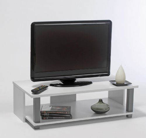 Tv Bank Initial 25 Weiß Tv Tisch Phonomöbel Hifi Rack Holz Neu
