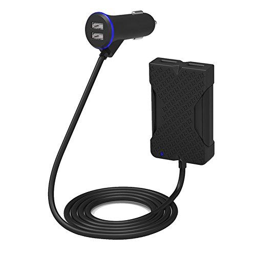 36W 5V 7.2AUSBカーチャージャー SamsungGalaxy iPhoneiPad 対応USBカーチャージャー 車載充電器 超小型 急速 充電器 シガーソケットチャージャー 車載用品 スマートフォン充電器
