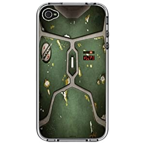 Boba Fett Armor Star Wars Handmade iPhone 4 4S Full Plastic Case on Amazon