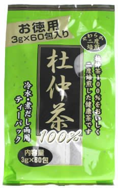 徳用 二度焙煎 杜仲茶 3g×60包