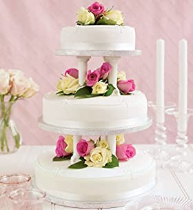 Marks and Spencer wedding cake