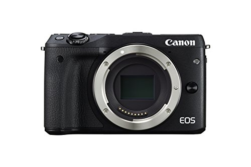 Canon EOS M3 Mirrorless Camera Body - Wi-Fi Enabled (Black)