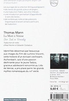 Telecharger La Mort A Venise Der Tod In Venedig Edition