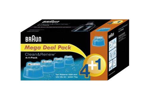 Braun Clean&Renew Reinigungskartusche 4+1 (5er-Pack) (limitierte Edition)