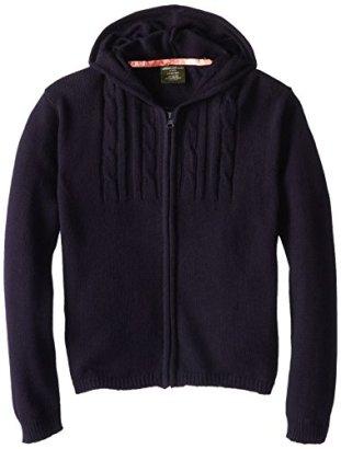 Eddie-Bauer-Big-Girls-Front-Zip-Hooded-Sweater-Navy1416