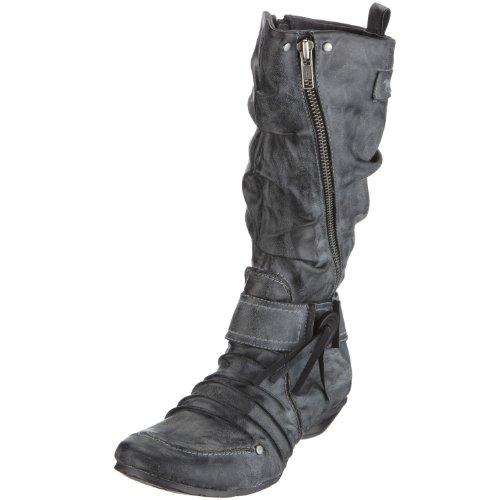 Mustang 1026-505 Damen-Stiefel, Damen Stiefel, Grau (stein 200), EU 37
