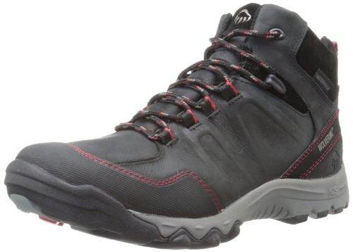 306e25a3e17 Wolverine Men's Alto Mid BL Hiking Boot,Black,14 M US ...